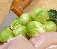 Chicken a la Kale, Quinoa & Brussels Sprouts | Healthy Careers